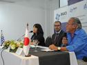 Subsecretario de MVOTMA, Jorge Rucks, haciendo uso de la palabra