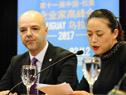 Directora general de Relaciones Internacionales del Consejo Chino para la Promoción del Comercio Internacional (CCPIT), Lei Hong