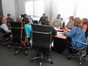 Reunión de representantes de ATD y autoridades del Consejo de Formación en Educación