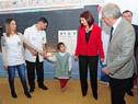 Pesquisas oftalmológicas a niños de escuelas públicas