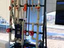 Una de las piezas que formaría la planta productora de cloro amigable con el medio ambiente