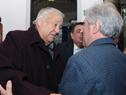 Vázquez saluda al presidente de Daecpu, Enrique Espert