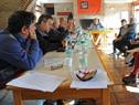 Ministro de Transporte y Obras Públicas, Víctor Rossi, en audiencias