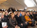 Instalaciones para la celebración del Consejo de Ministros abierto en el Cuartel de Blandengues de Artigas