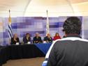 Participación ciudadana en el Consejo de Ministros Abierto en Cuartel de Blandengues