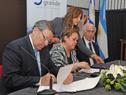 Firma del convenio entre Cancillería y la Universidad de la República