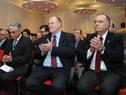 Embajador de Uruguay en la República Argentina, Héctor Lescano, entre los asistentes a la actividad