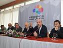 Director de Descentralización e Inversión Pública de la OPP, Pedro Apezteguía, haciendo uso de la palabra