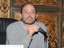 Matías Rodríguez, director Nacional de Políticas Sociales del Mnisterio de Desarrollo Social, dirigiéndose a los presentes