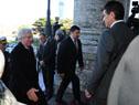 Vázquez es recibido por el vicepresidente, Raúl Sendic