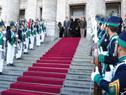 Vázquez se retira del acto celebrado en el Palacio Legislativo