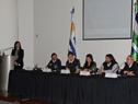Director nacional de Transporte, Felipe Martín, haciendo uso de la palabra