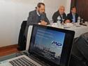 Inicio de la actividad sobre la fima de convenio para realizar la pavimentación de la explanada del puerto de Nueva Palmira