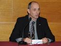 Presidente de la UTE, Gonzalo Casaravilla, haciendo uso de la palabra