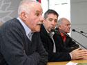 Raúl Campanella, Leonel Molinelli y León Cristalli