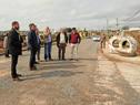 Director de OPP, Álvaro García, recorre barrios de Mercedes