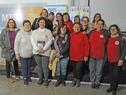Representantes del Sindicato Uruguayo de Trabajadoras Domésticas