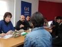 Ministra Marina Arismendi, con organizaciones sociales de Río Negro
