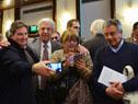 Rossi, Astori, García, Nin Novoa, y De León en presentación del proyecto