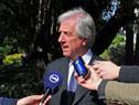 Vázquez dialoga con la prensa