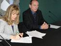 Firma de convenio entre el MEC e INISA