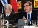 Fiscal de Corte, Jorge Díaz, haciendo uso de la palabra