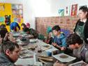 Jóvenes participan de taller de Cecap