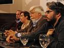 Presidenta del directorio de ASSE, Susana Muñiz, dirigiéndose a los presentes