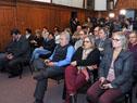 Ministro Jorge Basso y subsecretaria Cristina Lustemberg en la presentación del Mapa Sanitario