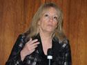 Ministra Carolina Cosse, dirigiéndose a los presentes
