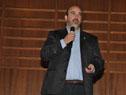 Director Nacional de Medio Ambiente, Alejandro Nario, durante su discurso