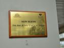 Descubrimiento de placa en Hospital Policial
