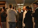 Ministro del Interior, Eduardo Bonomi, inicia la recorrida por las nuevas instalaciones del CTI del Hospital Policial