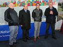Alberto Espasandín, Alfredo Etchandy, Santiago Urrutia y Carlos Fagetti