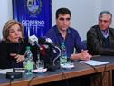 Ministra Eneida de León recorre obras en ciudad de Salto
