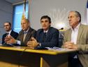 Juan Andrés Roballo, Miguel Toma, Álvaro García y Ernesto Murro