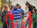 Inauguración de viviendas en exasentamiento Las Láminas