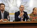 Conferencia de prensa sobre situación de la venta de cannabis en Uruguay