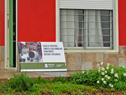 Nueva casa construida por el Ministerio de Vivienda y las familias