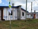 Casas de madera del barrio T15, en el departamento de Tacuarembó