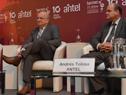 Director ejecutivo de Agesic, José Clastornik, y presidente de Antel, Andrés Tolosa