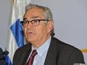 Subsecretario de Ganadería, Enzo Benech, haciendo uso de la palabra