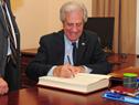 Presidente Tabaré Vázquez
