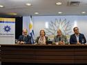 Mesa de autoridades en el lanzamiento del Día del Patrimonio