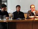 Conferencia sobre acuerdo entre OPP e Intendencia de Rocha