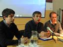 Director de la OPP, Álvaro García, haciendo uso de la palabra