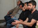 Vecinos de Rocha, durante las audiencias con el ministro Víctor Rossi