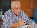 Ministro Víctor Rossi durante las audiencias en Rocha