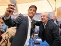"""""""Selfie"""" con el presidente"""