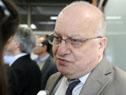 Ministro de Transporte, Víctor Rossi, en declaraciones a la prensa